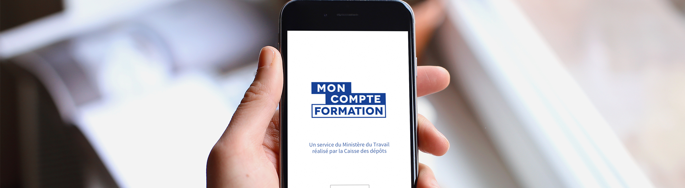 Mon compte formation application mobile