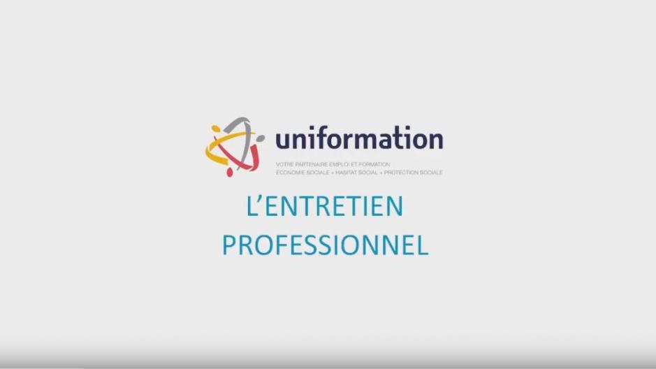 L Entretien Professionnel Uniformation